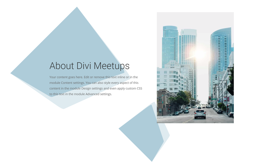 divi section divider backgrounds
