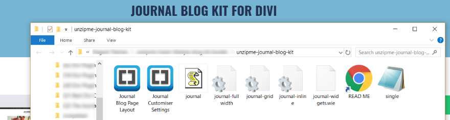The journal blog kit for divi overview and review ask the egghead inc - Divi font awesome ...
