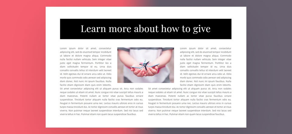 How to Wrap Text Around Images in Divi (3 ways)