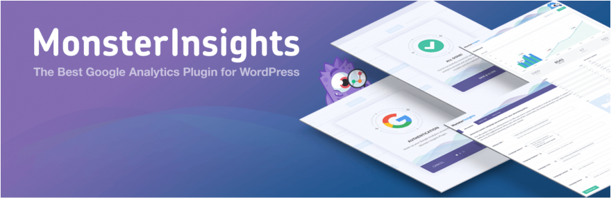El complemento MonsterInsights de Google Analytics para WordPress.