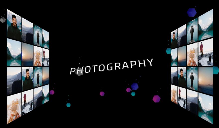 divi paredes de fotos 3d