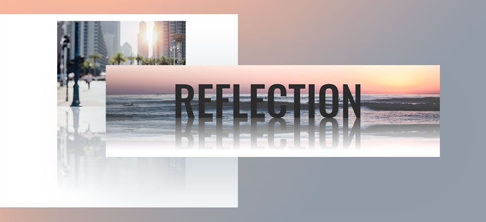 How to Design Reflections for Images and Text in Divi