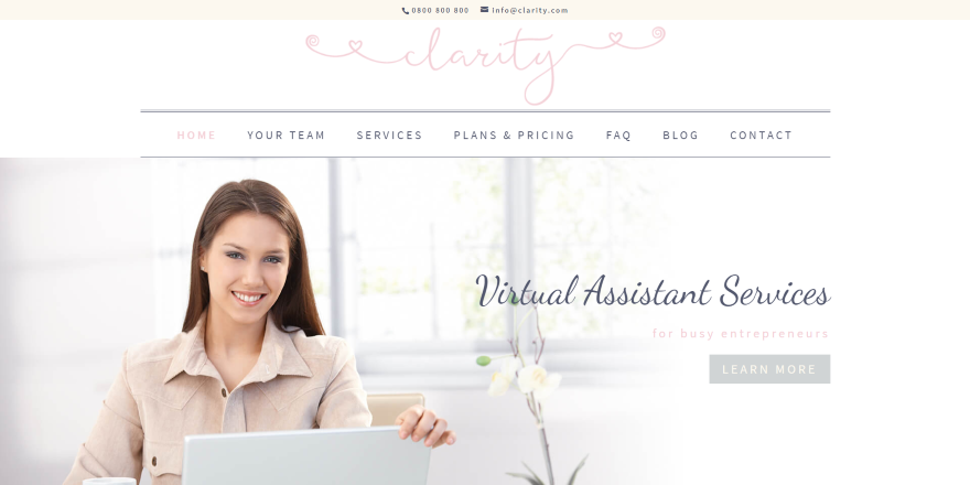 Divi Child Themes for Virtual Assistants
