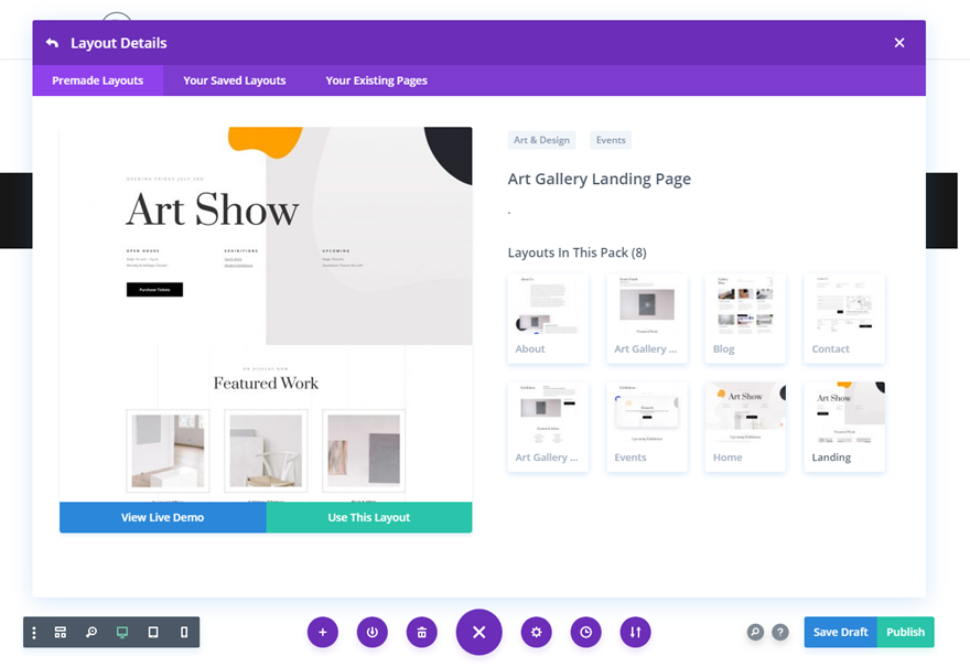 Get a FREE Art Gallery Layout Pack for Divi | Elegant Themes Blog