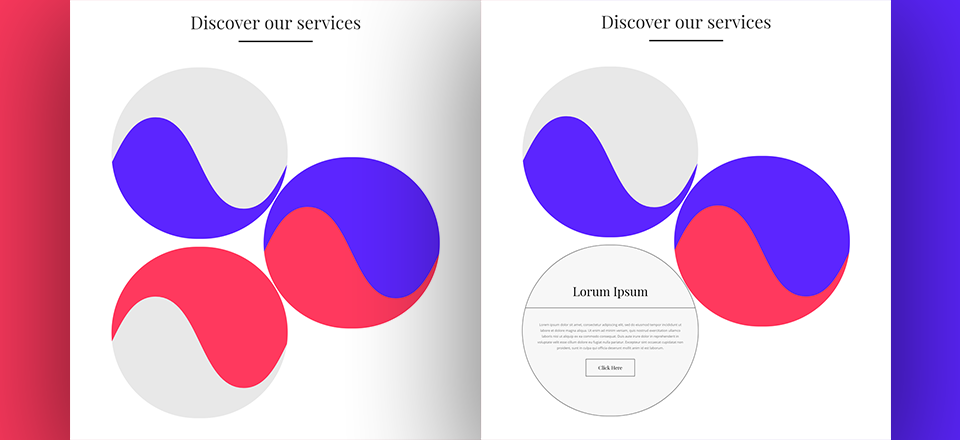 Elegantly Hiding Your Copy Below Section Dividers in a Stunning Design with Divi