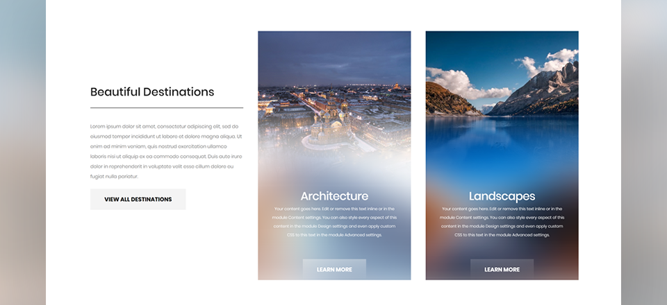 How to Create Beautiful Blurred Backgrounds with Divi
