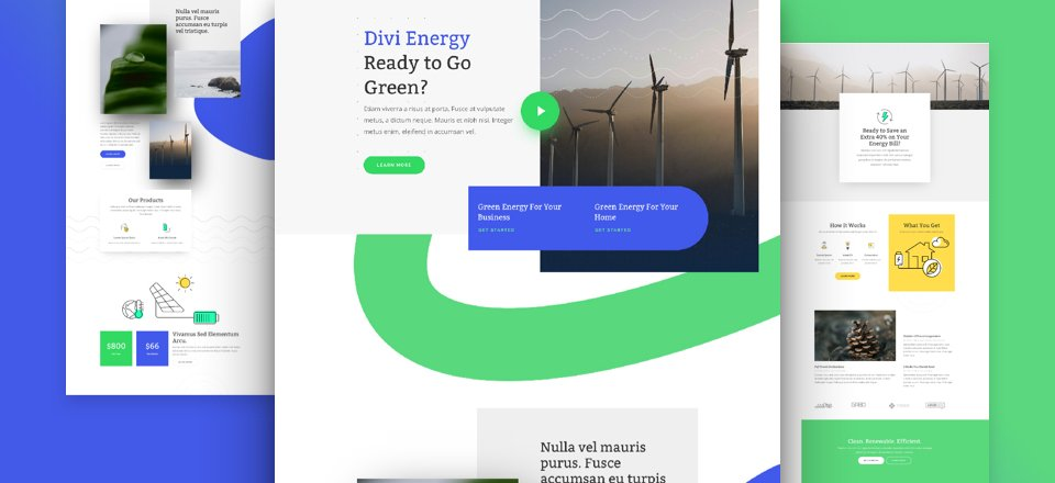 Get a FREE Green Energy Layout Pack