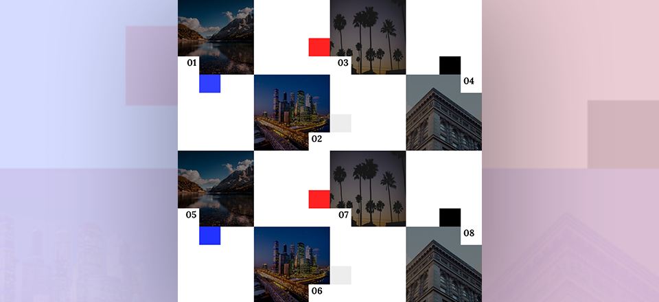 Labeling Image Corners in a Stunning Gallery Grid with Divi