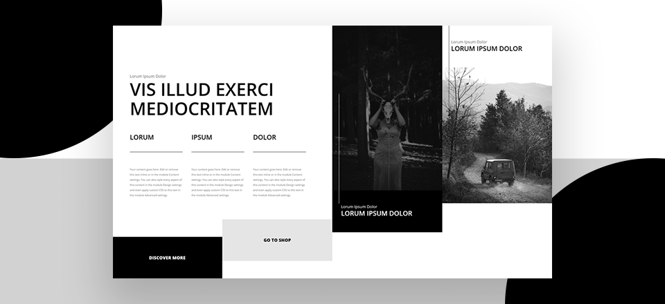 How to Design Unique Multi-Column Hero Sections with Divi's Specialty Section
