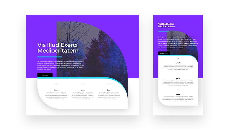 How to Creatively Use Divi's Row Borders to Create a Stunning Hero Section Design