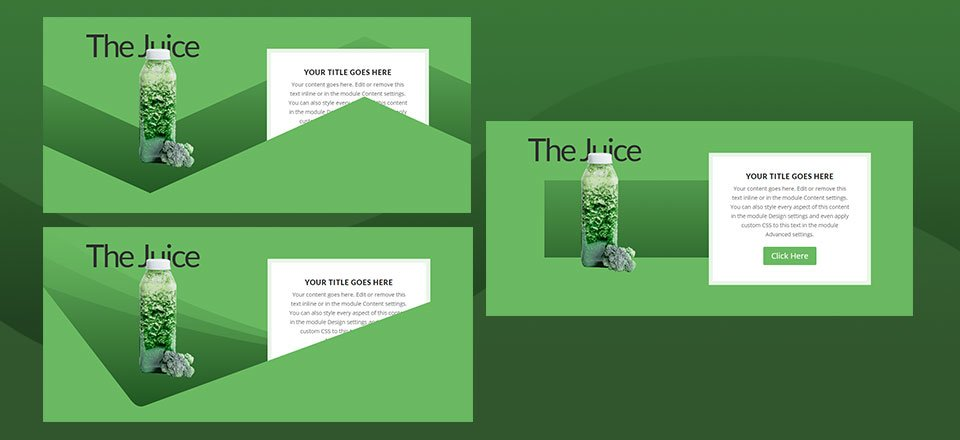 How to Use Section Divider Height Hover Effects to Reveal Content in Divi