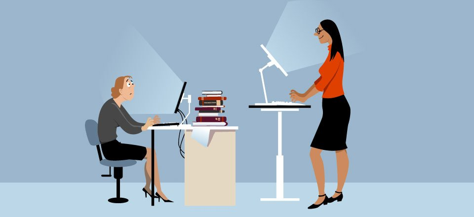 Can a Standing Desk Help You Be Better at Your Job?