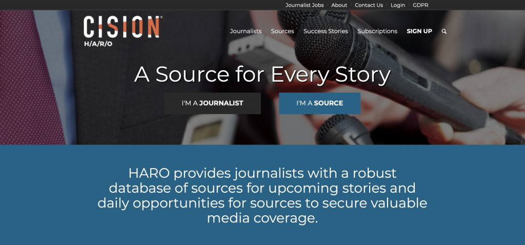 haro - help a reporter out