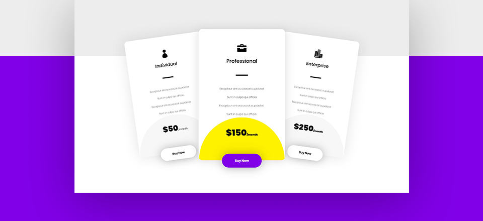Turning Columns Into Pricing Plans with Divi