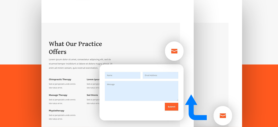 How to Create a Fixed Contact Form Corner Popup with Divi's Sizing Options