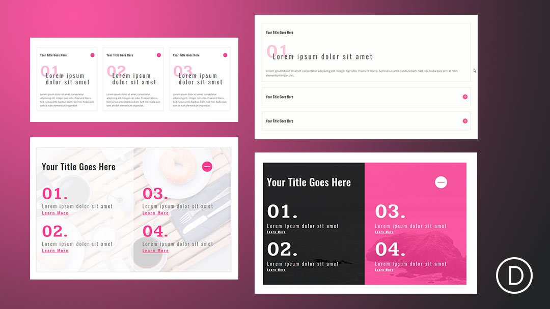 How to Use Divi's Text and List Style Options for Unique Toggle and Accordion Content Designs