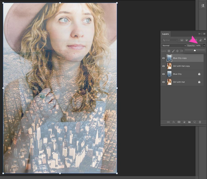 screenshot of photoshop blend opacity