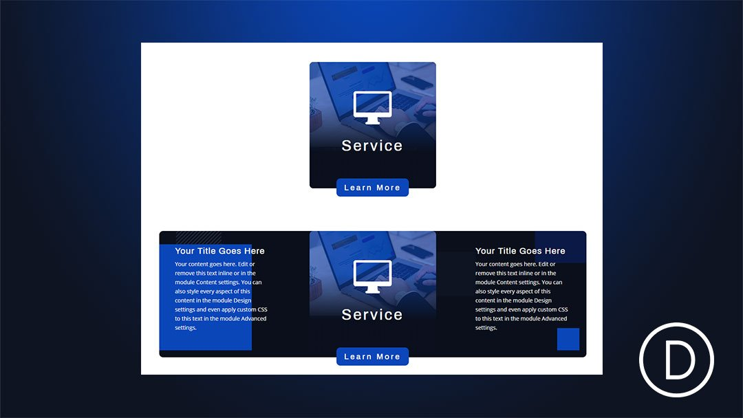 Creating Pop Out Service Descriptions on Hover with Divi