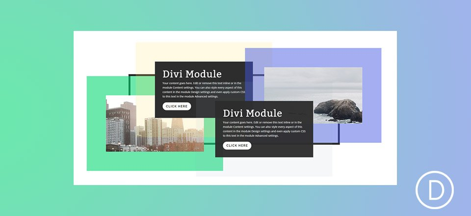 How to Stagger Divi Columns and Modules for Unique Broken Grid Designs