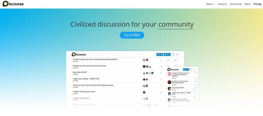 Discurso Comunidad Foro Software