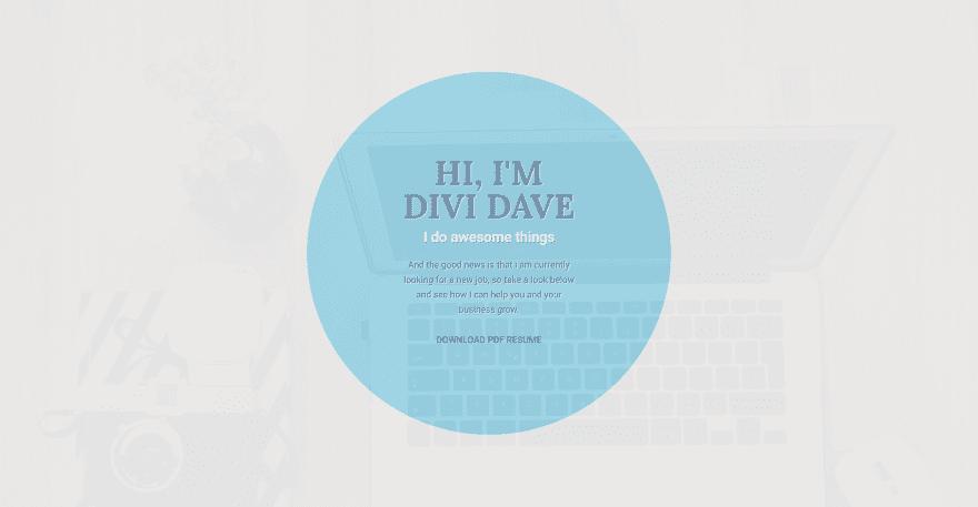 10 Divi Layouts For Resume Websites Elegant Themes Blog