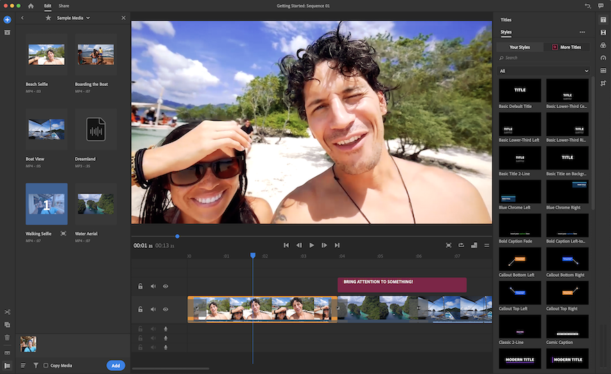 Get Started with Adobe Rush – Easy Mobile Video Editing and