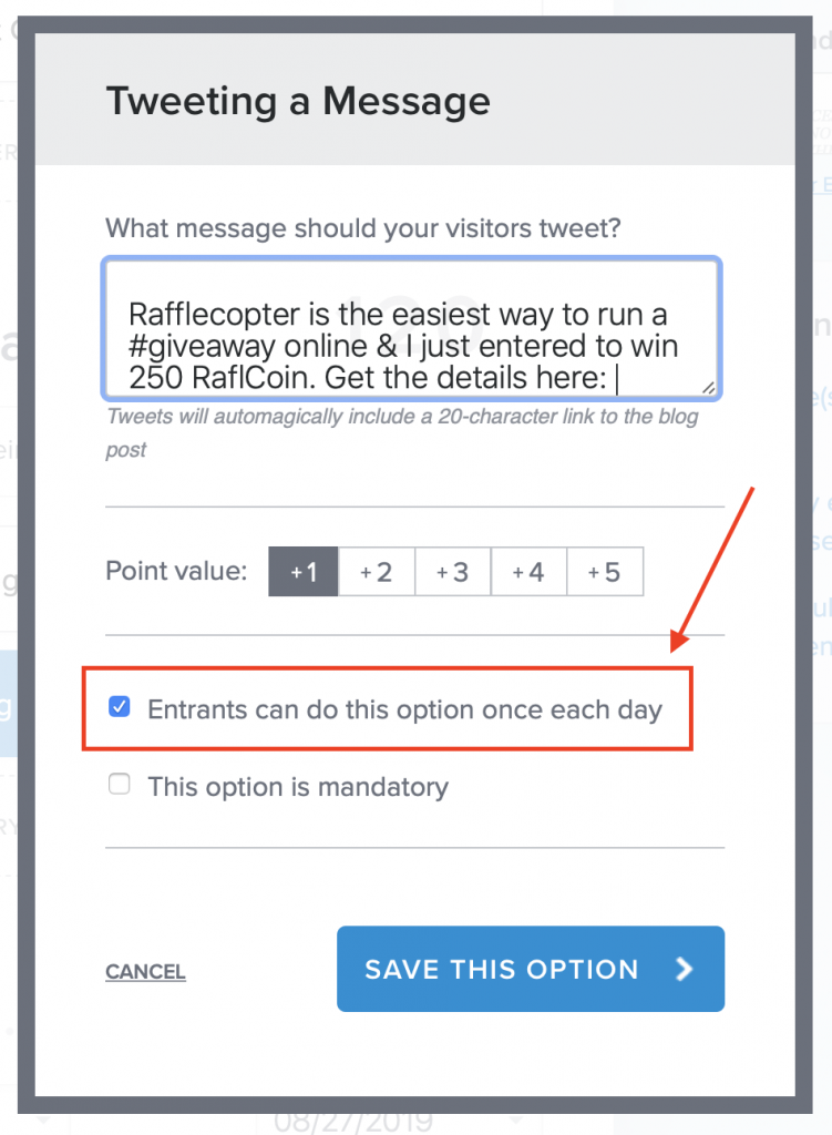a rafflecopter giveaway