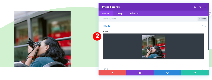 add a square image