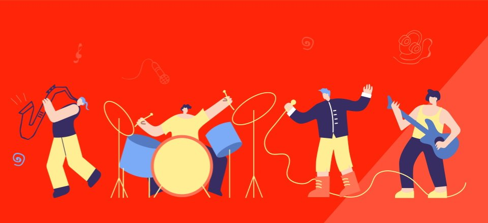 7 Divi Layouts for Musicians