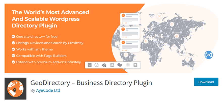 GeoDirectory WordPress Business Directory Plugin