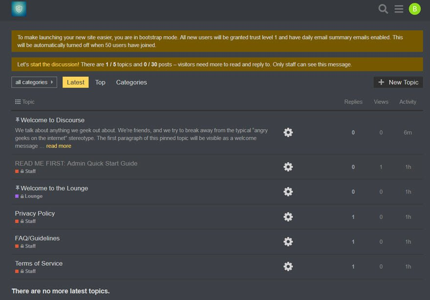 Discourse Community Forum Software