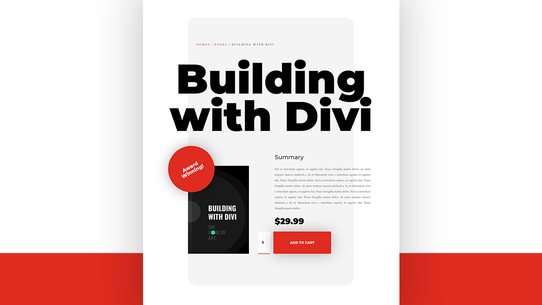 How to Create a Clean & Bold Product Page with Divi's WooCommerce Modules (Free Download!)