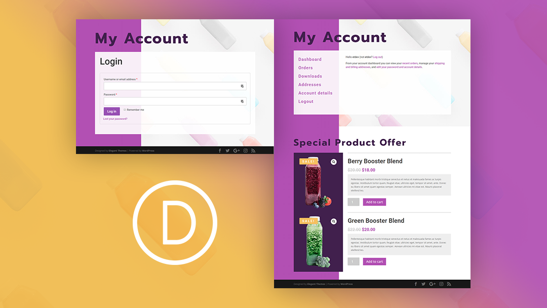 How to Create a WooCommerce Account Page with a Featured Product Section for Logged-In Users
