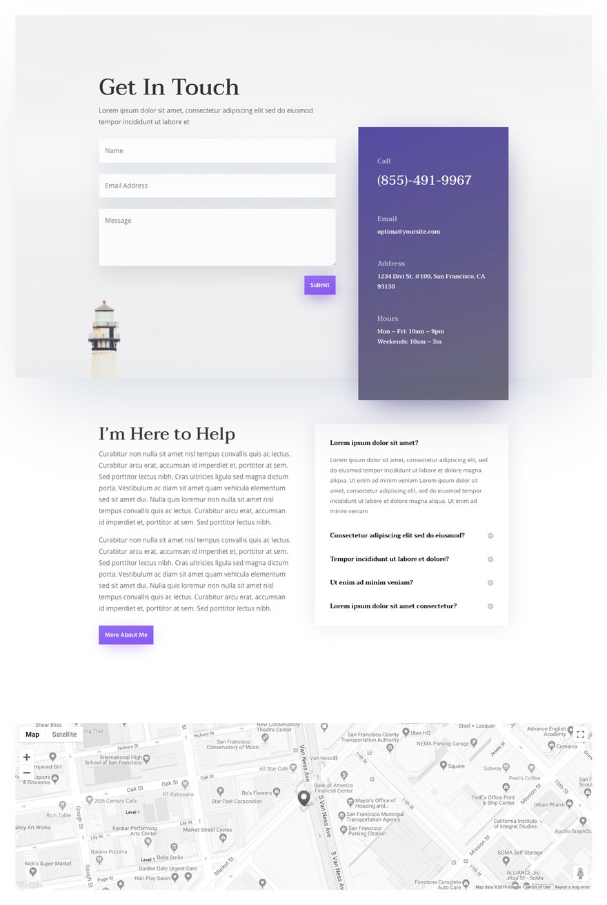 divi psychologist layout pack