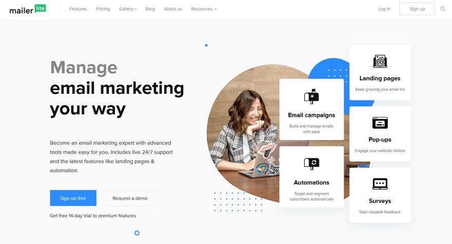 Servicios de marketing por correo electrónico