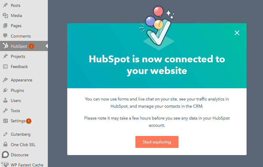 Integrate HubSpot with WordPress
