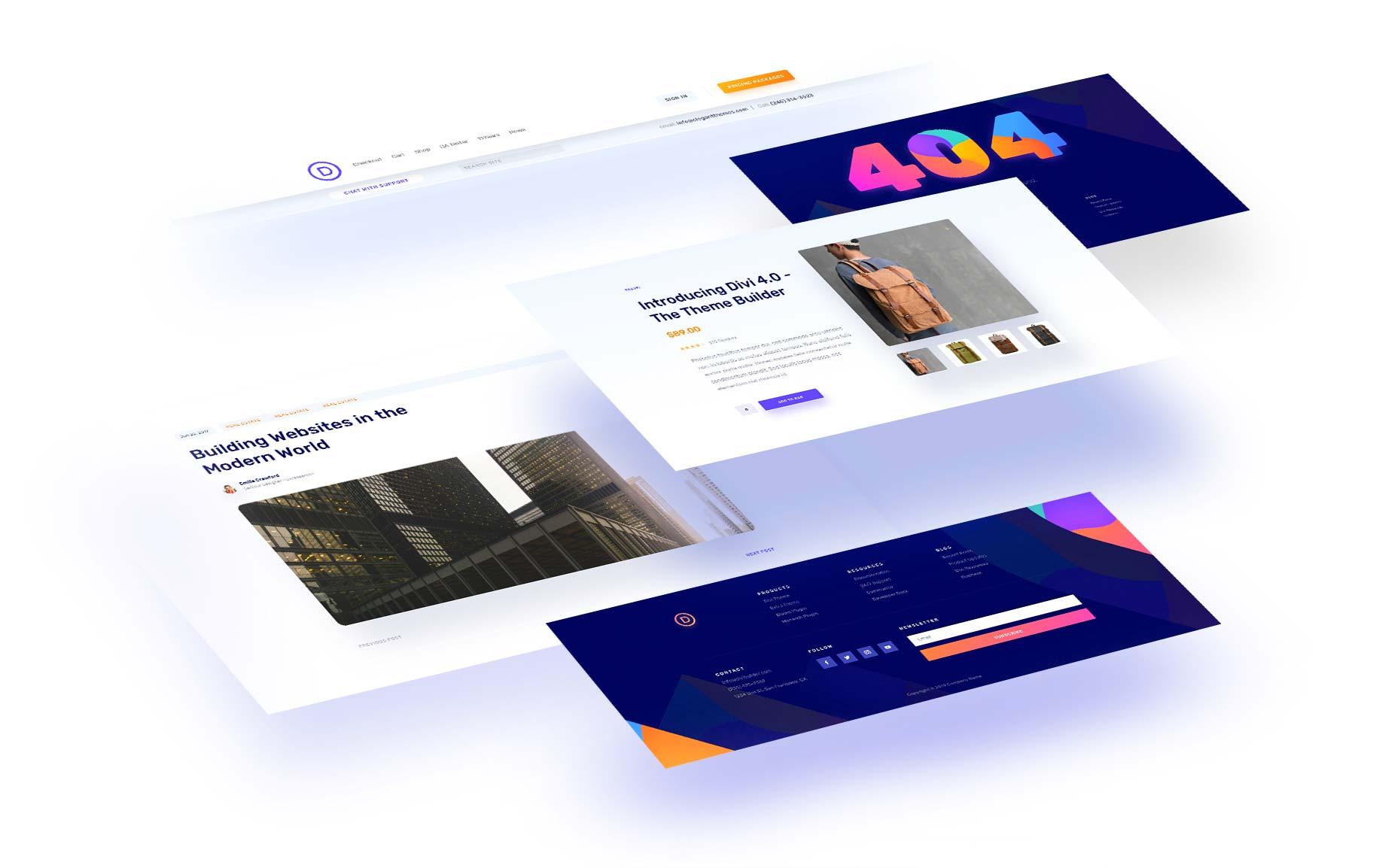 Introducing The Divi Theme Builder | Elegant Themes Blog