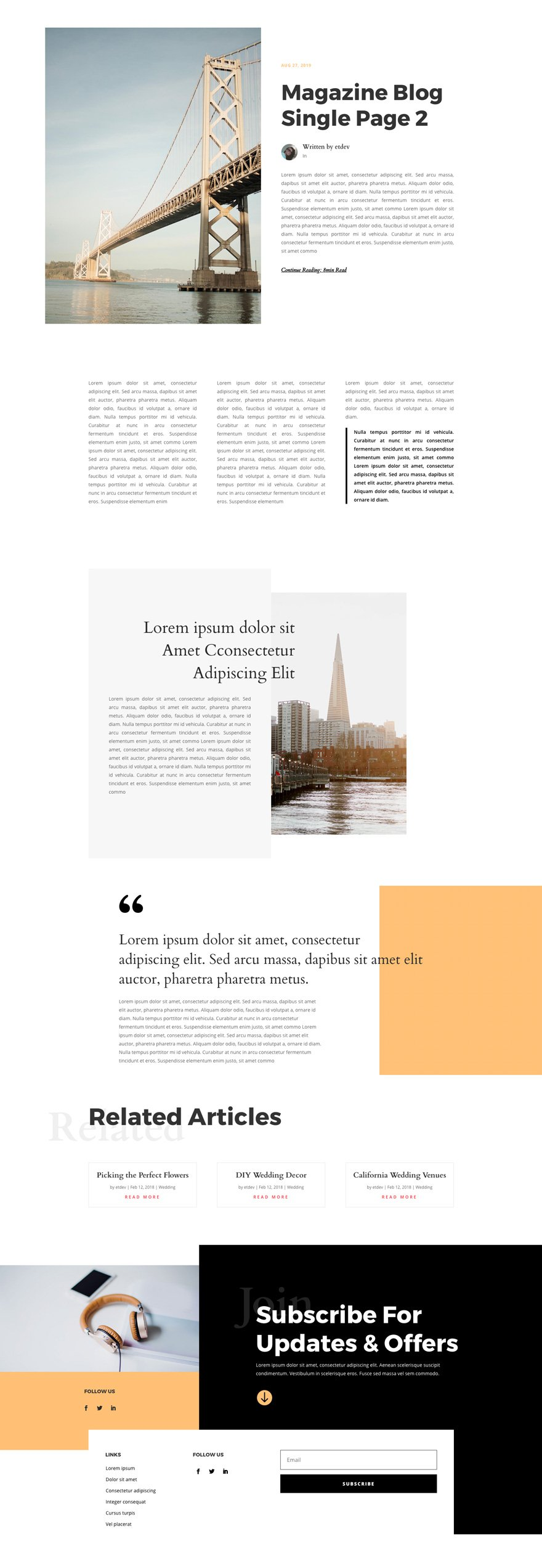 magazine layout pack
