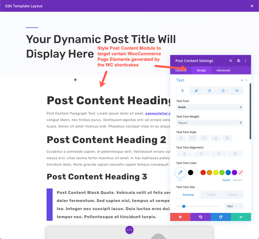 How To Use The Post Content Module In The Divi Theme Builder