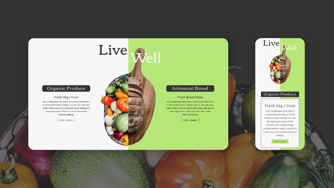 How to Create Elegant Split-Image Product Info Sections with Divi