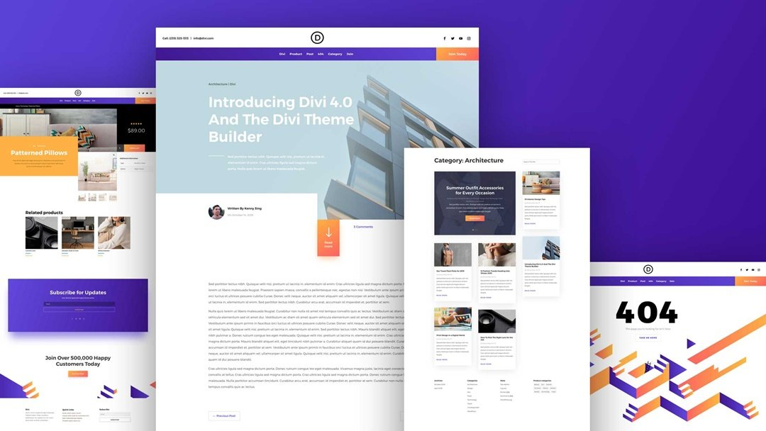 Download The First FREE Theme Builder Pack For Divi