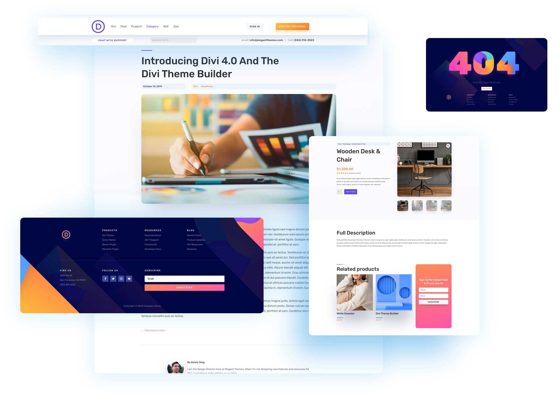 Download The Fifth Free Theme Builder Pack For Divi