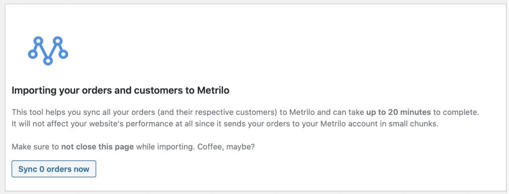 Metrilo for WooCommerce