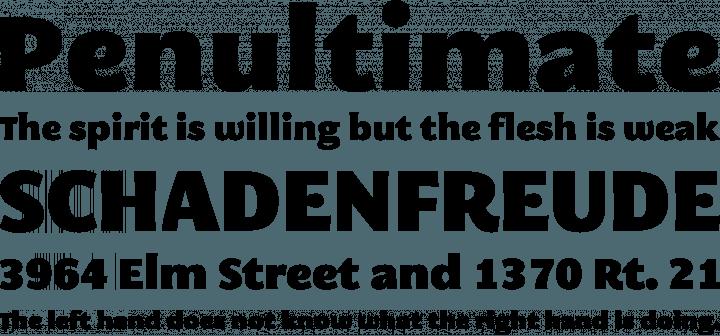 block letter font