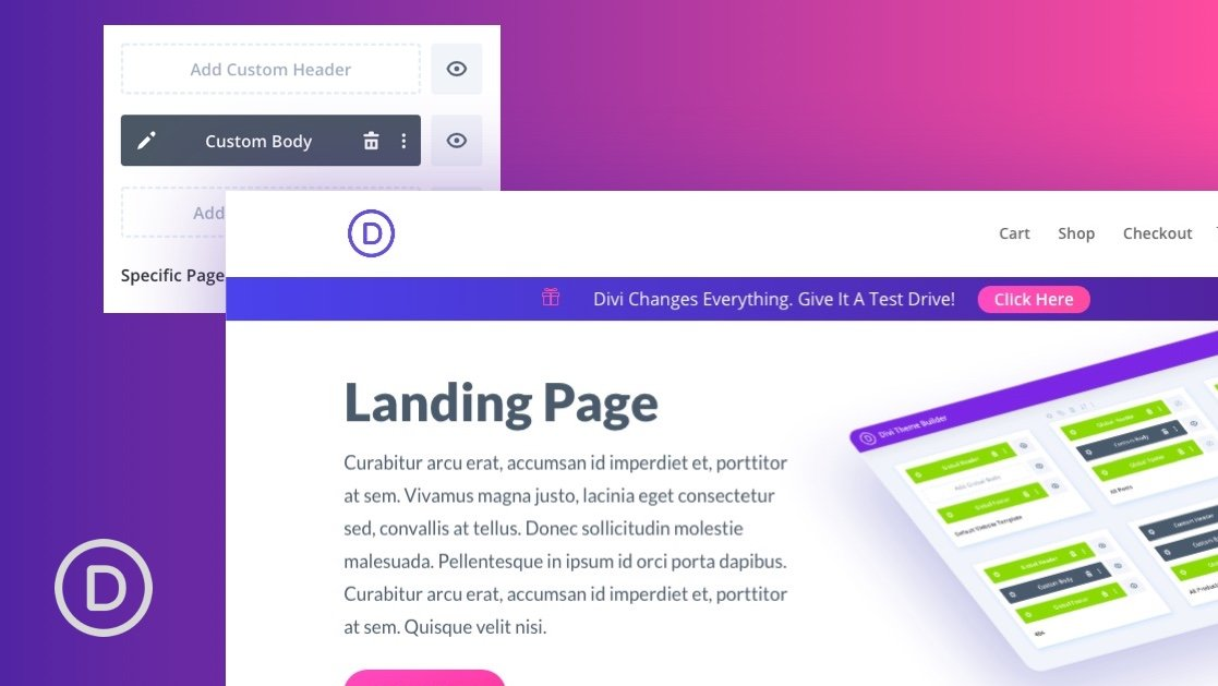 How to Create an Animated Promo Bar for Your Page Templates in Divi