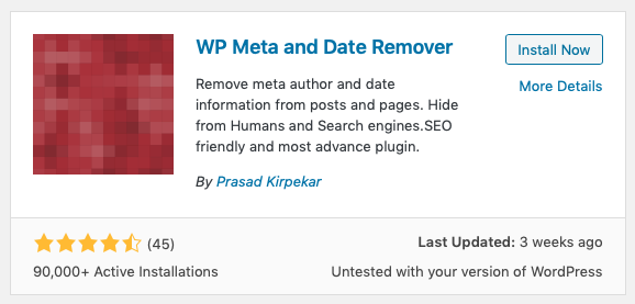 change WordPress author