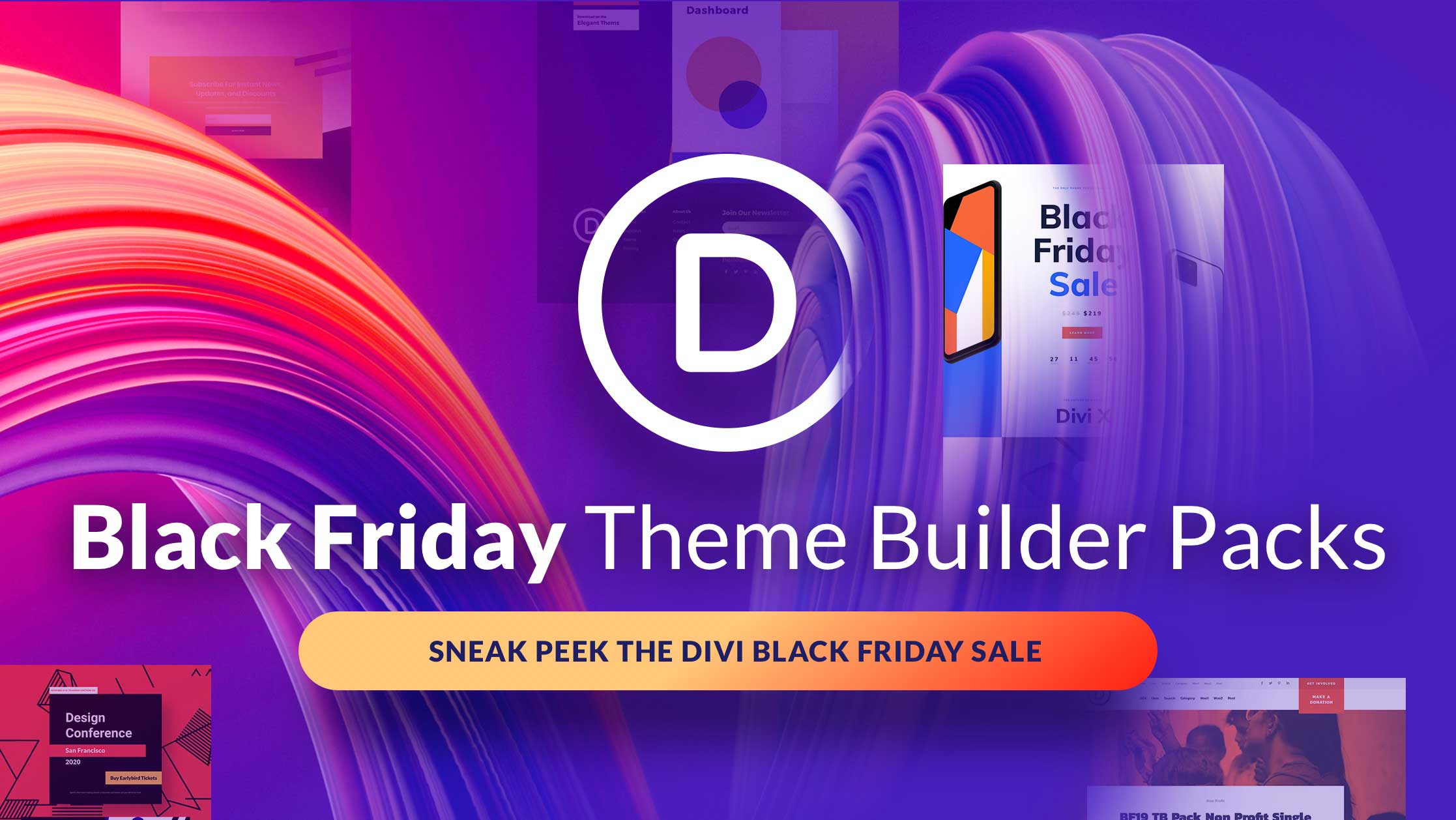 The Black Friday Theme Builder Packs: Divi 4.0 Users Will Love These!