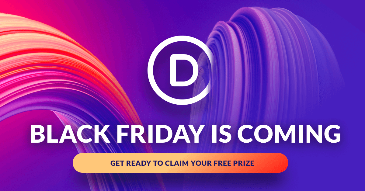 The Divi Black Friday Sale Is Coming! Win A Free Mac Pro While You Wait