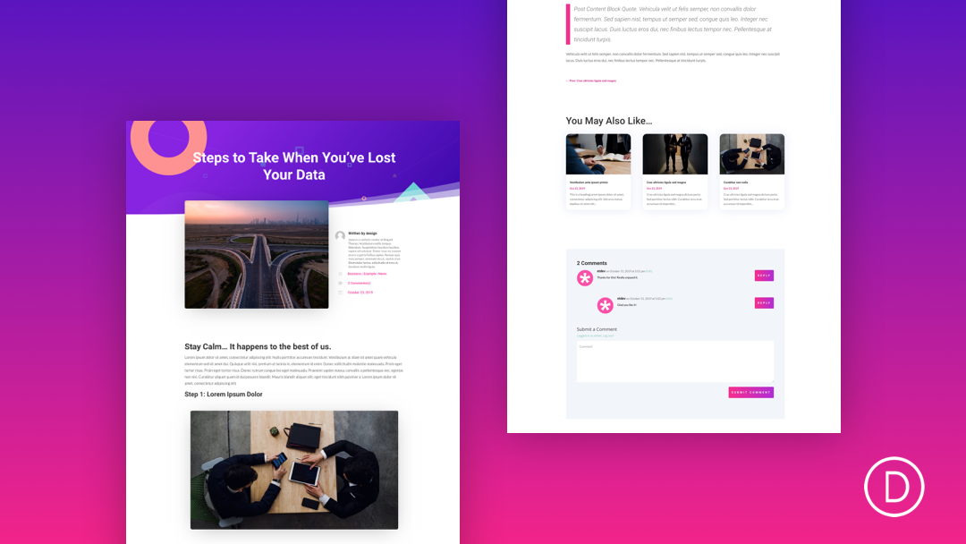 How to Design a Blog Post Template with Divi's Theme Builder (FREE Download)