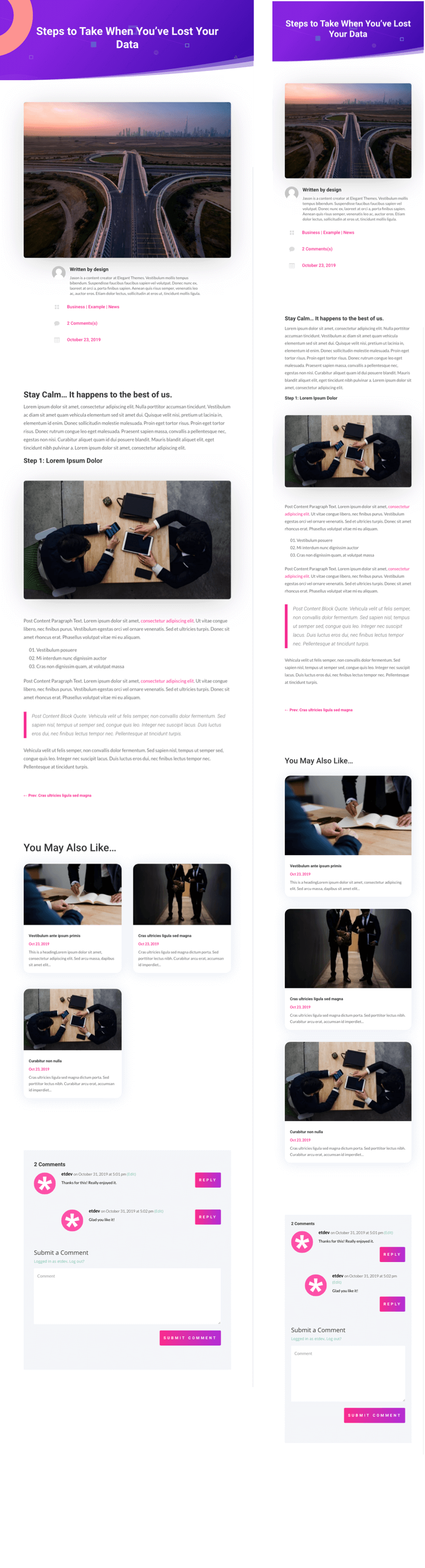 How to Design a Blog Post Template with Divi's Theme Builder (FREE  Download) | Elegant Themes Blog
